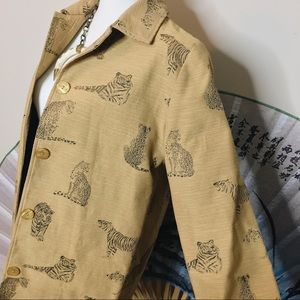 🐆 Vintage Into the Jungle Coat 🐆